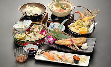 函馆游膳炙家沙罗之月海鲜套餐(午餐/晚餐可选)