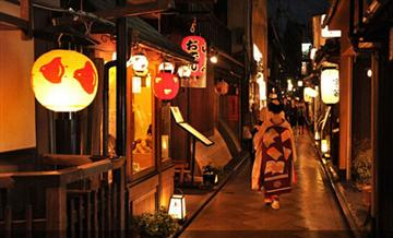 祇园舞伎表演 + 京都料理(含接送)