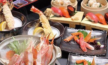 北海道ORENO札幌本店螃蟹晚餐方案