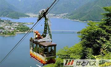 【哈多巴士】富士山经典-河口湖缆车+御殿场奥特莱斯购物(新宿出发/含中文导览)