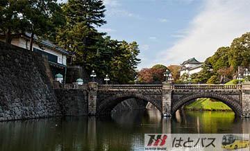 【哈多巴士】东京经典半日游(皇居二重桥+浅草寺+仲间世购物街)