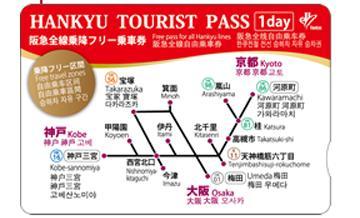 大阪阪急全线乘车券