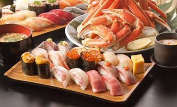 东京美食 高级寿司自助餐 雛鮨免排队套餐券